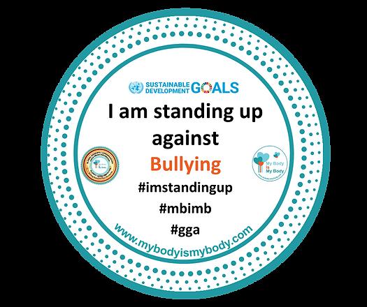 MBIMB I am standing up against Bullying