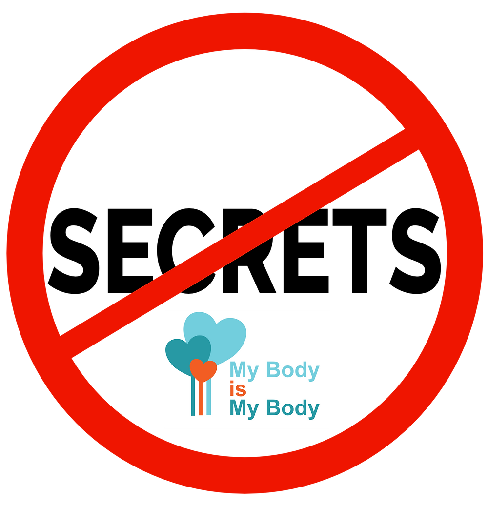 SAY NO TO SECRETS - My Body Is My Body
