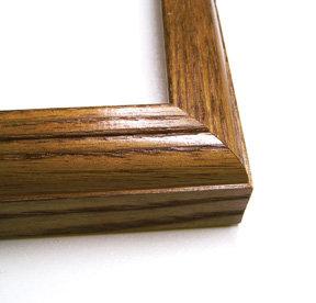 "15 1/2"" x 19""  Oak Frame"