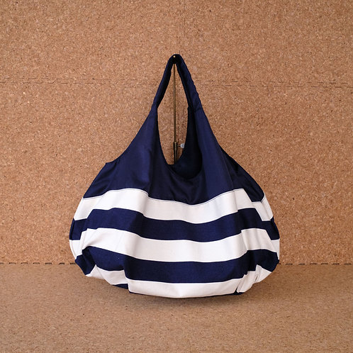ボーダーバルーンバッグ