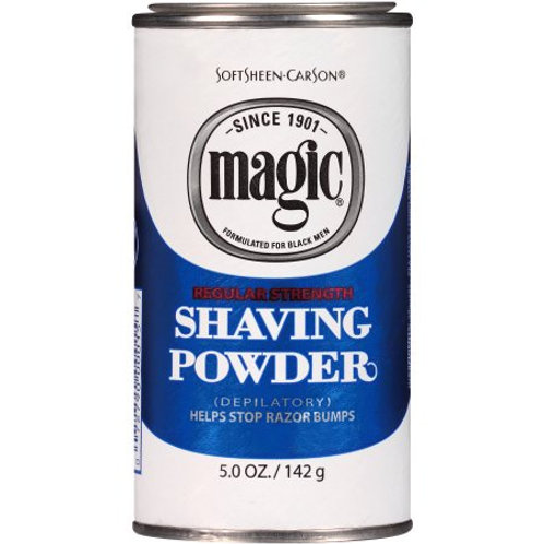 Softsheen Carson Magic Regular Strength Shaving Powder
