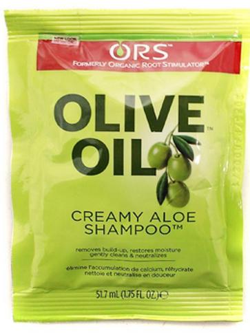 Organic Root Stimulator Olive Oil Creamy Aloe Shampoo, 1.75 oz