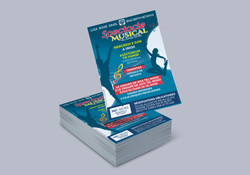 Flyer Spectacle Musical