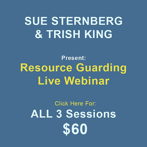 Sternberg/King: Resource Guarding All 3 Sessions