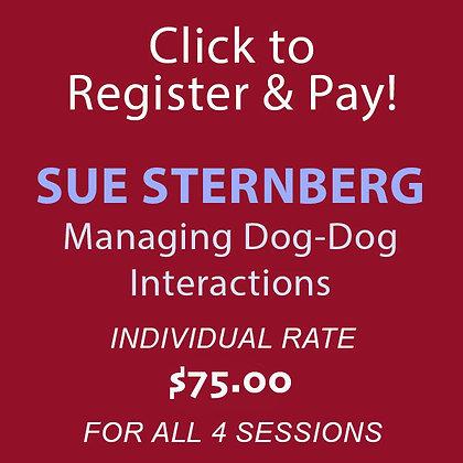 Sue Sternberg Dog-Dog Interaction