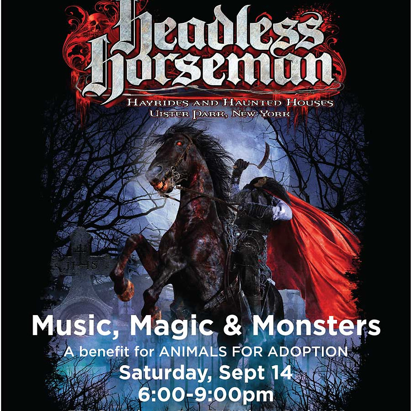 Music, Magic & Monsters Benefit