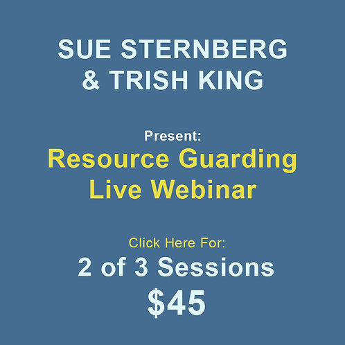 Sternberg/King: Resource Guarding 2 Sessions