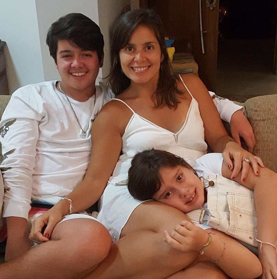 eu e filhos