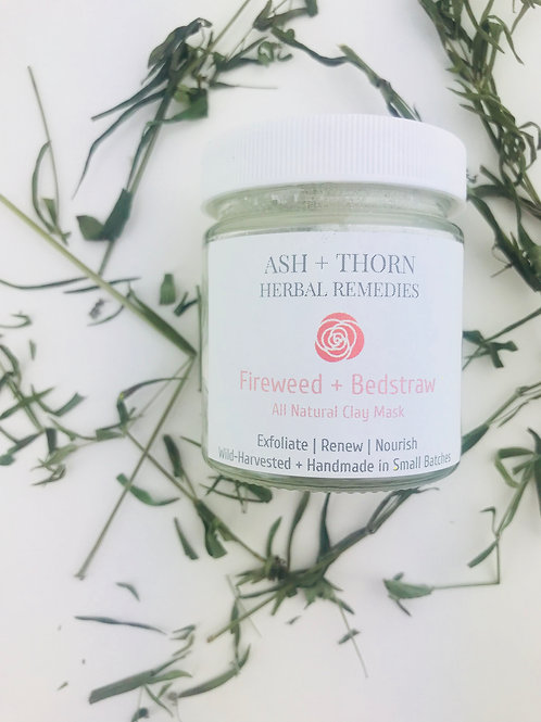 Fireweed + Bedstraw Clay Mask 40 g