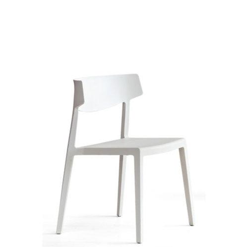Krzesło Actiu Wing White