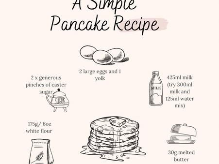 Eat your damn pancakes!