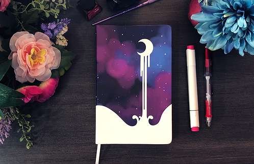 Moon and Stars Sketchbook