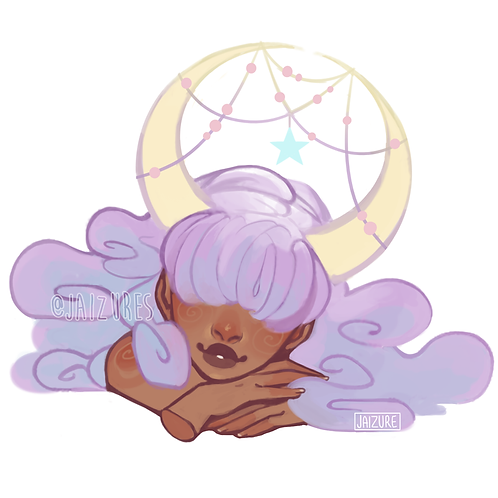 Dreamy sticker
