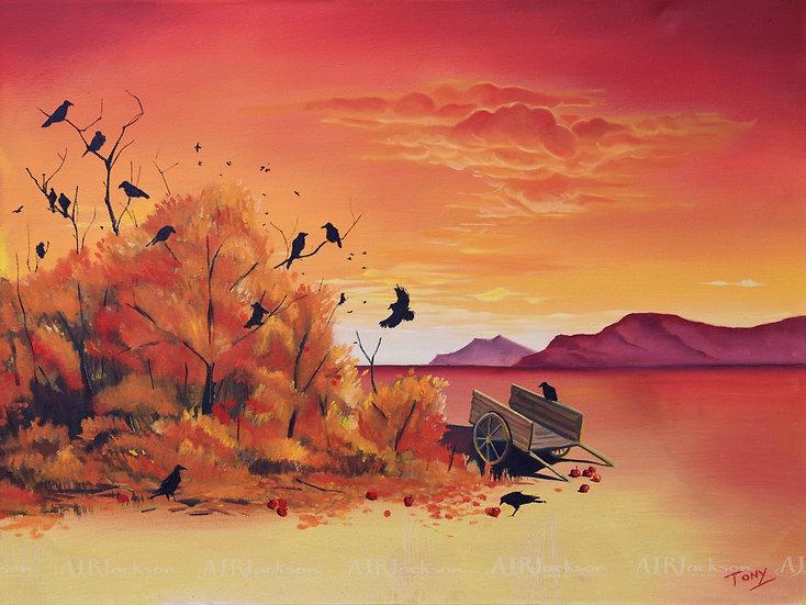 Autumn Crows - Open Edition Print