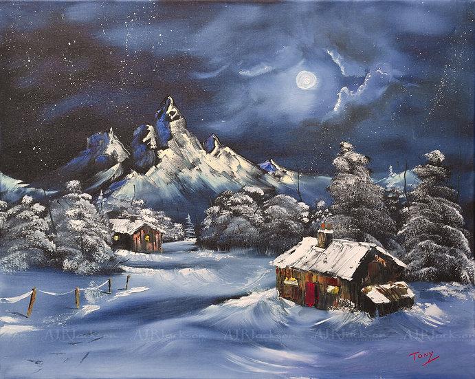 Winter Moonlight - Open Edition Print