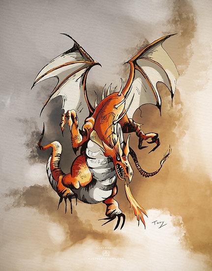 Dragon Illustration - Open Edition Print