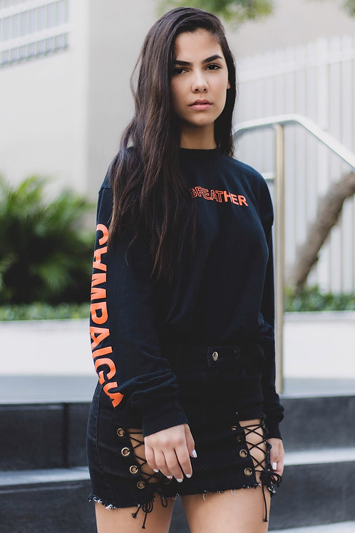 "Campaign ""GREATHER"" LS, Black"