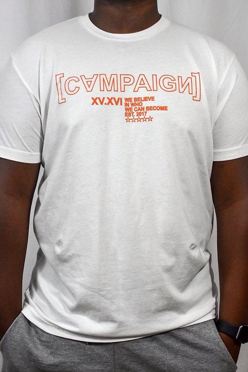 Campaign Logo Tee, White