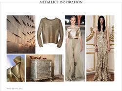 Metallics Trend Concept
