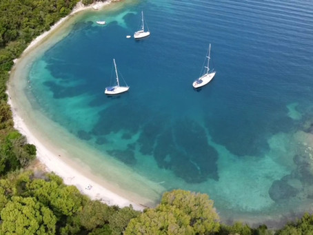 Jadranje Hrvaška-Grčija 2020