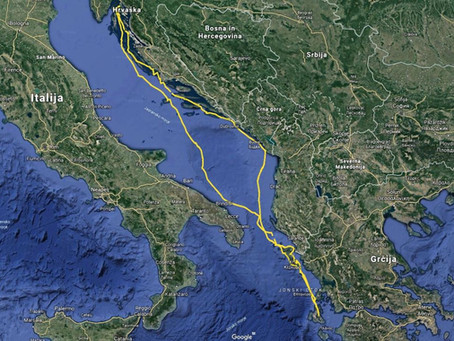 Jadranje Grčija - 6.del