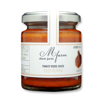 M-Farm Black Garlic Tomato Veggie Sauce ( Yuzu Pepper )