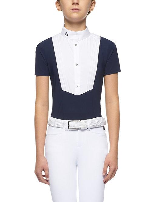 Cavalleria Toscana Kid's Short Sleeve Competition Shirt