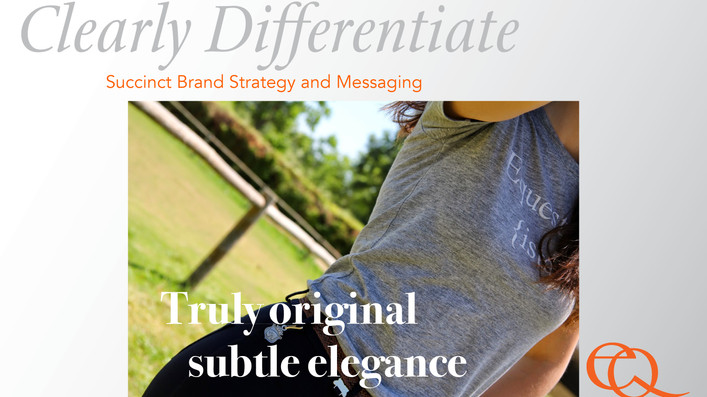 Enduring Brand Strategy & Messaging to Stand Apart