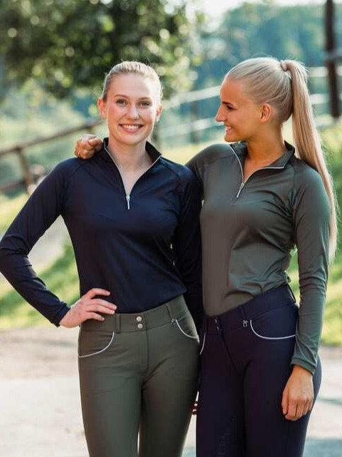 Horze Carolina Long Sleeve Training Shirt