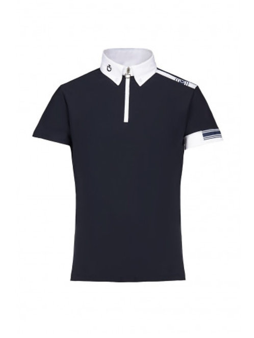 Cavalleria Toscana Boy's Jersey Competition Polo
