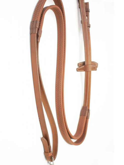 Signature by Antares Rubber Reins 5/8