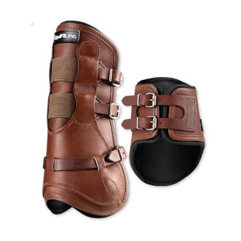 Equifit Luxe Leather Equitation Horse Boots Hind