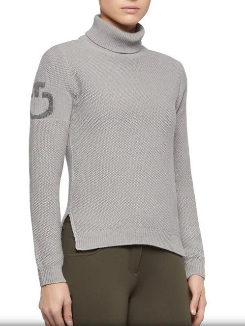Cavalleria Toscana Turtleneck Seed Sweater