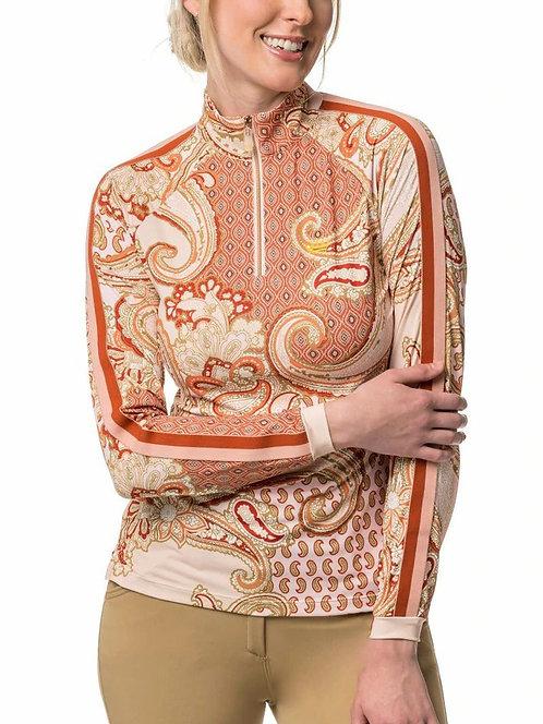 Kastel Denmark Blush Paisley Long Sleeve Sun Shirt