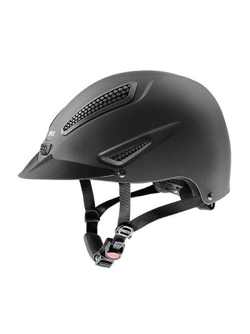 uvex perfection active matte equestrian helmet