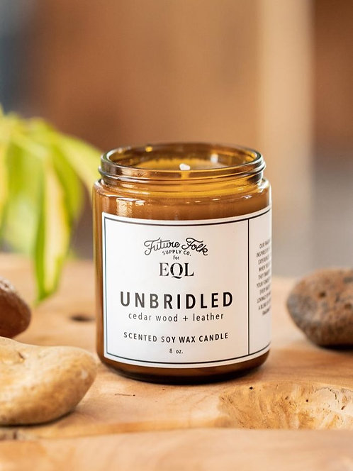 EQL  Unbridled Soy Wax Candle