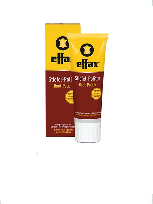 Effax Boot Shine Polish - Black