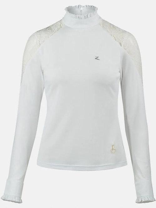 Horze Sylvie Lace Show Shirt