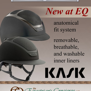 New at EQ: Kask Equestrian Helmets