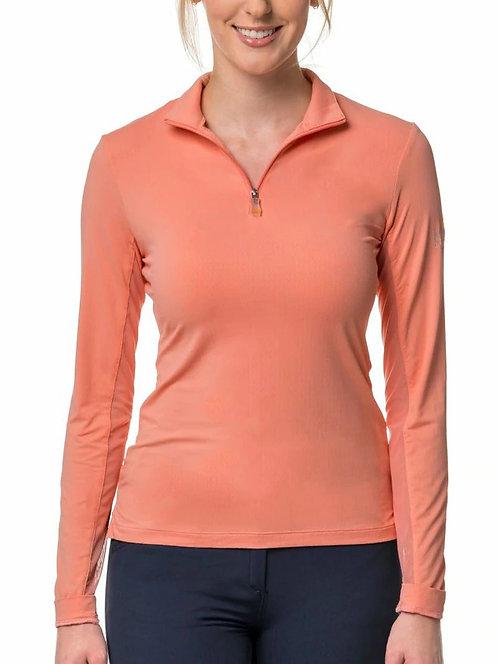 Kastel Denmark 1/4 Zip Long Sleeve Sun Shirt