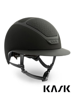 Kask Star Lady shadow matte black wide brim helmet