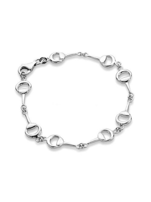 Awesome Artifacts Sterling Silver Bit Bracelet