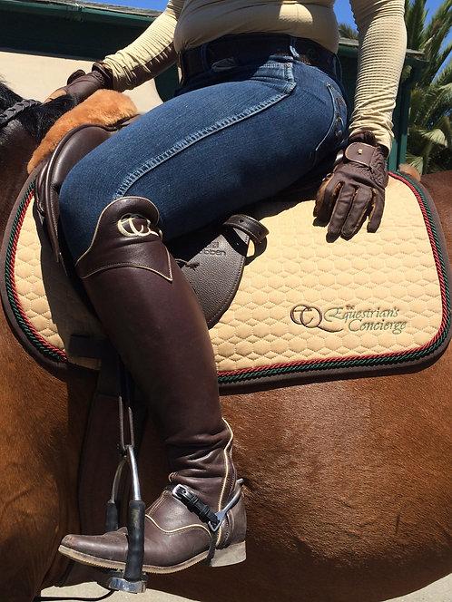Custom Mattes Square Saddle Pad
