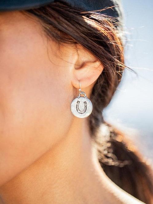 EQL Lucky Medallion Earings