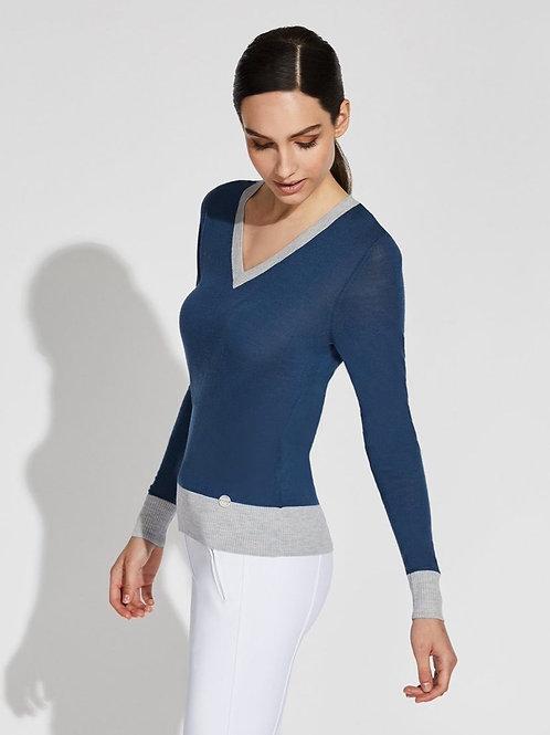 Asmar Jane V-Neck Merino Sweater