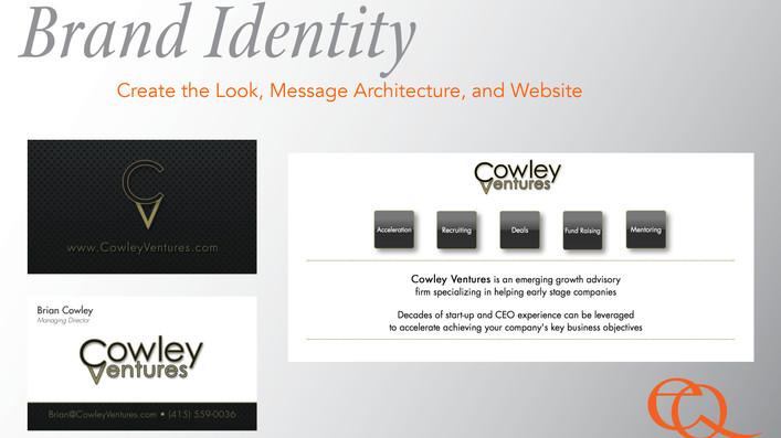 Brand Identity, Presentation Site