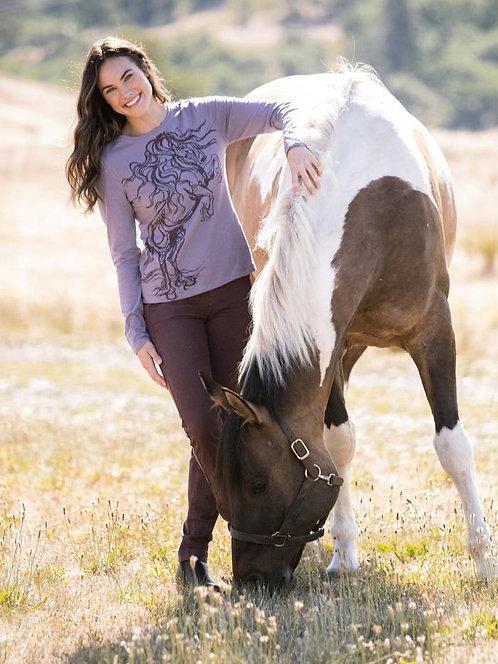 EQL Horse Haven Long Sleeve T-Shirt