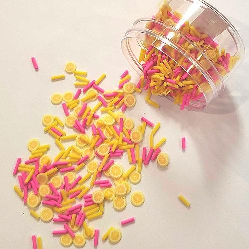 Fake Sprinkles, Pink Lemonade (20g)