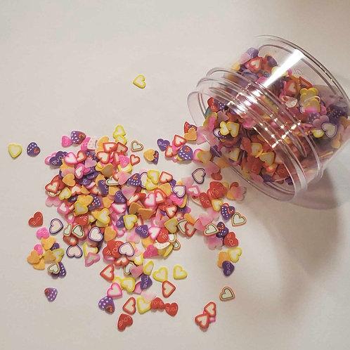 Mini Sculpts Hearts Confetti, 0.5oz