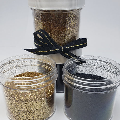 Bless You Boys Glitter Set, Two 1 oz Jars